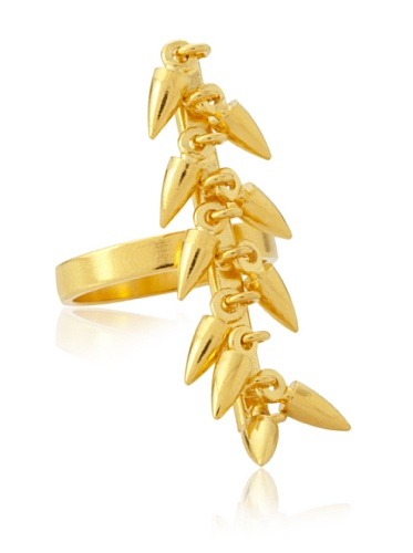 Jules Smith Gold Tracey Bullet Ring, 6/7