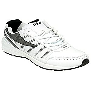 Classic Carbon Off White Sports Shoes for Men by Fila