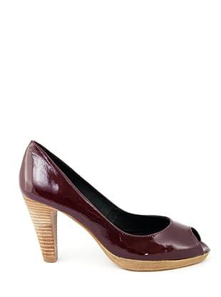 Eye Shoes Zapatos Peep Toe (Burdeos)