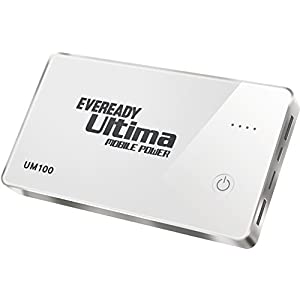 Eveready UM 100 10000mAH Power Bank for Tablets and Smartphones