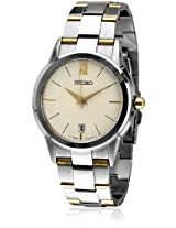 Seiko Analog Silver Dial Men's Watch - SGEF45P1