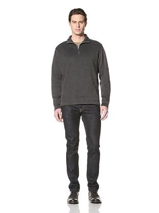 Road Men's Buckley Quarter-Zip Pullover (Black)