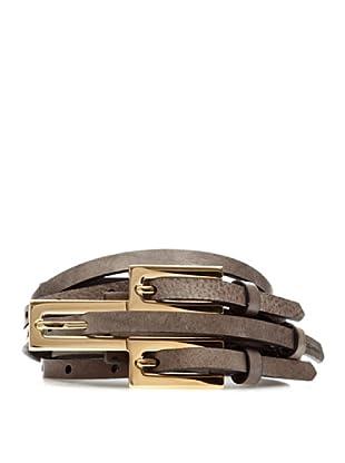 Dolce & Gabbana Cinturón Piel (Gris)