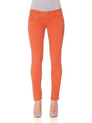 Cross Jeans Pantalón Vaquero Melissa Skinny Fit Regular Rise (Coral)