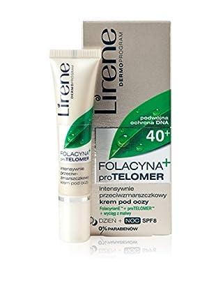 Lirene Augenkonturencreme Folacyna PRO Telomer 40+ 8 SPF  15 ml, Preis/100 ml: 66.33 EUR