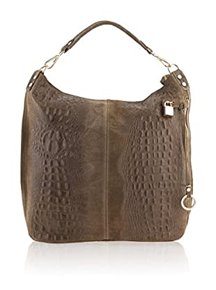 Giulia Schultertasche Cow taupe one size