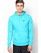 Aqua Blue As Club Hoody-Swoosh