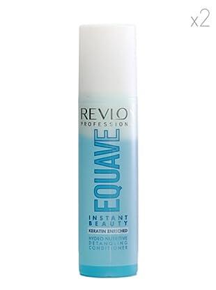 Revlon  Set 2 Equave Ib Acondicionadores Instantáneo Desenredar Fórmula bifásica 500  ml