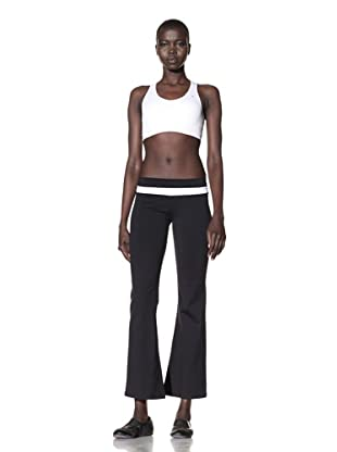 David Lerner Women's Colorblock Pants (Black)