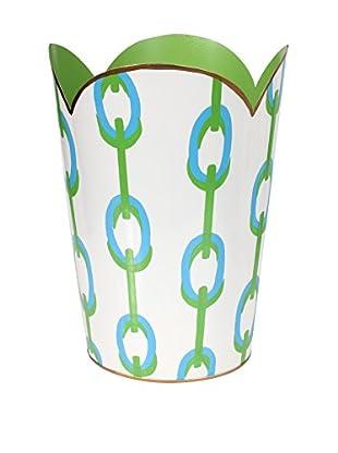 Jayes Chains Tulip Wastebasket, Green