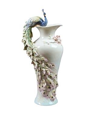 Unicorn Studio Prunus & Peacock Vase