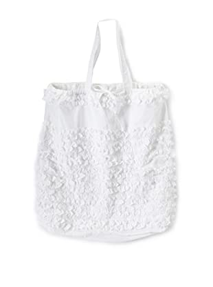 India Rose Prom Night Laundry Bag, White, 24