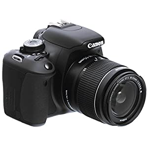Canon EOS 600D 18MP Digital SLR with EF-S 18-55 IS Kit Lens (Black) with 4GB SD Card, Camera Bag