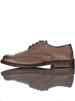 British Passport Zapatos Derby (Marrón)