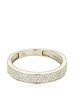 Bentelli Anillo 9K Gold 0.32Ct Diamonds