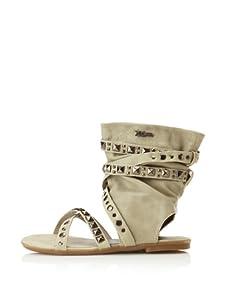 XTI Kid's Sandal with Wraparound Ankle Cuff (Ice)