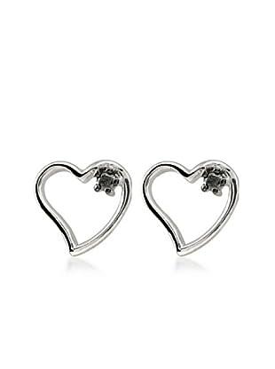 Divas Diamond Pendientes Diamante Corazón