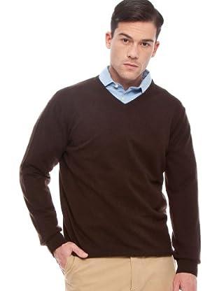 Hackett Jersey Clásico (marrón)