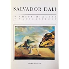 Salvador Dali: 24 Masterpieces Postcard Book