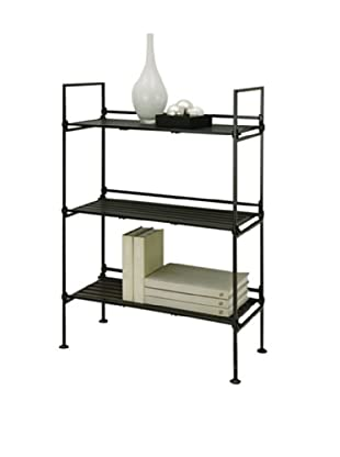 Organize It All Ebonize 3-Tier Shelf