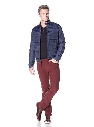Vince Men's Nylon Puffer Jacket (Union Blue)