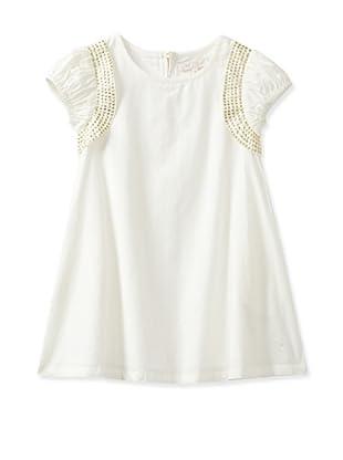 Pale Cloud Girl's Synne Dress (White)