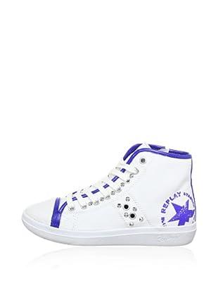 Replay Sneaker Male (Weiß/Marine)