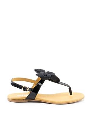 Misu Sandale Schleife (Schwarz)