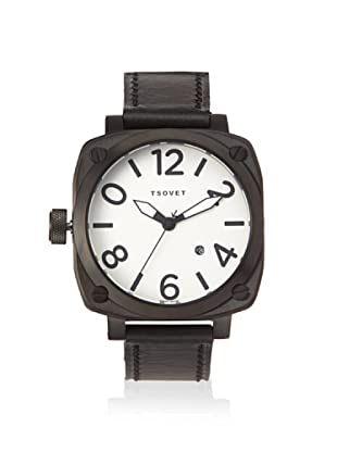 Tsovet Men's SVT-AT76 Commodore Black/Silver BDL 316 L Watch