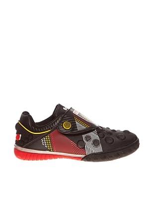 Sneaker Klettverschluss (Schwarz)