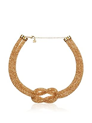 Swarovski Halskette  goldfarben