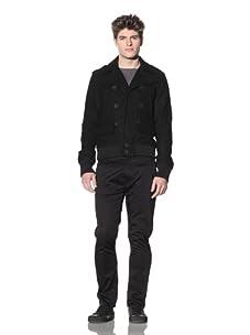 ZAK Men's Wool Jacket (Black)