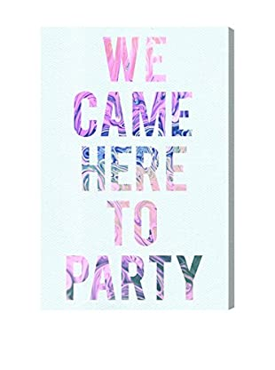 Oliver Gal 'We Came to Party' Canvas Art