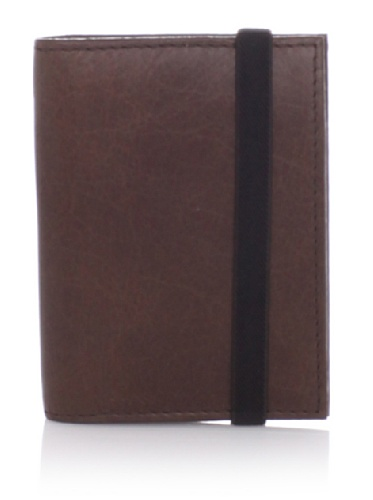 Property Of Men's Edwin Clip Wallet (Dark Brown)
