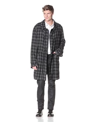James Long Men's Big Boy Coat (Check)