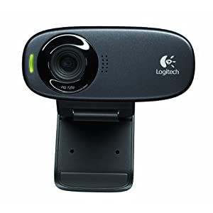 Logitech C310 Webcam-Black
