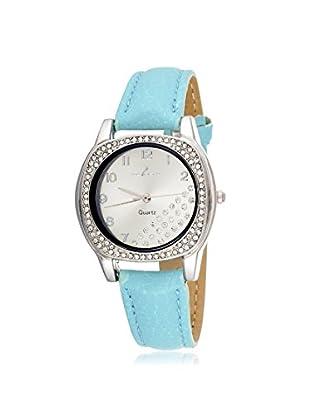 Via Nova Women's NWL308535GR Blue Leather Watch