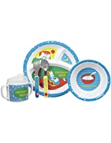 Kids Preferred 5 Piece Goodnight Moon Melamine Mealtime Set By Kids Preferred