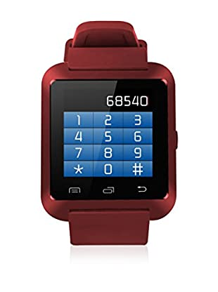 F&P Smartwatch Bluetooth rot