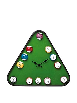 Kare Design Reloj Pared Billiard Triangle