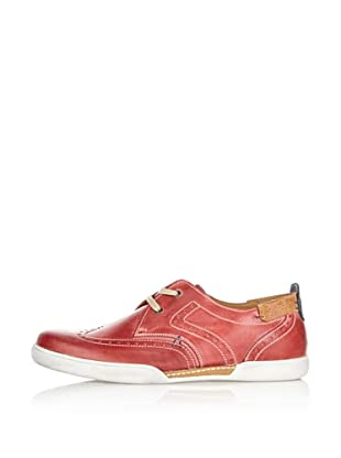 Fretz Men Zapatillas Bradford (Rojo / Cognac)