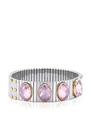 Nomination Armband  silber/rosa