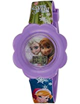 Disney Digital Multi-Colour Dial Girl's Watch - DW100475