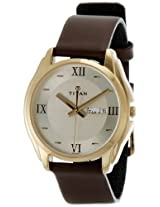 Titan Karishma Analog Gold Dial Men's Watch - NE1578YL05