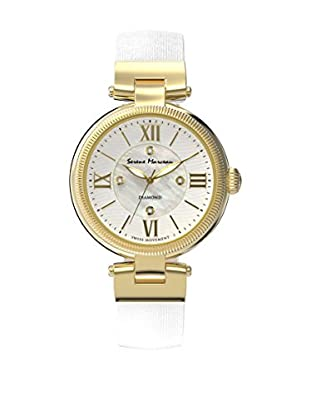 Serene Marceau Diamond Reloj de cuarzo Woman Series IV Blanco 32 mm