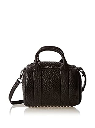 Alexander Wang Bolso asa de mano Rokie Medium Nickel