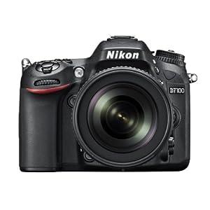 Nikon D7100 24.1MP Digital SLR Camera (Black) with AF-S 18-105mm VR Lens, 8GB Card and Camera bag