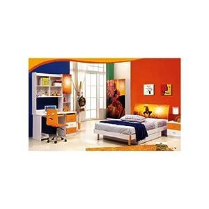 Mebelkart Full Kids Bed Room Set : Spiderman Theme
