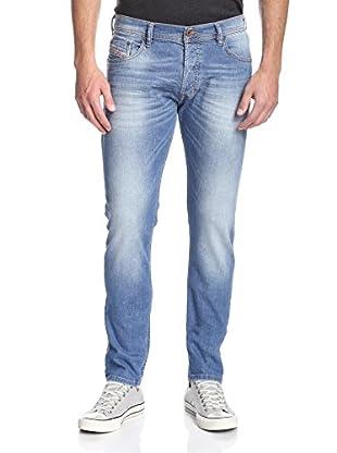 Diesel Men's Tepphar Skinny Whiskered 5 Pocket Jean