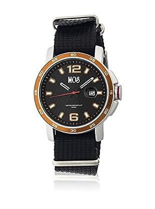 Mos Reloj con movimiento cuarzo japonés Moseb105 Negro 43  mm